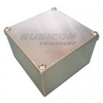กล่องสแตนเลสพลูบล็อก RP-04 ขนาด 200x200x100mm.