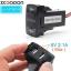 ช่อง USB Charger สำหรับ Honda Jazz City CRV Civic Accord Freed thumbnail 1