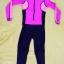 ชุดว่ายน้ำเด็กบอดี้สูท แบบแขนยาว ขายาว ท่อนบนสีชมพู ท่อนล่างสีดำ มีซิบหน้า น่ารักสดใส thumbnail 1