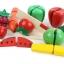 ชุดหั่นผัก ผลไม้เสริมพัฒนาการ รุ่นกระป๋อง 29 ชิ้น thumbnail 6