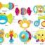 ของเล่นเขย่าเสริมพัฒนาการ 10 ชิ้น Huile Baby Rattles thumbnail 3
