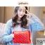 กระเป๋าน้ําร้อนไฟฟ้าลายจุด Y414-PI สีชมพู thumbnail 4