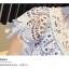 เดรสผ้าลูกไม้สีฟ้า เย็บทอผสมกับผ้าถักโครเชต์ที่ช่วงไหล่ และกระโปรง thumbnail 11