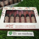 ODBO wine lip tint โอดีบีโอไวน์ลิปทินท์ (เซ็ต 6แท่ง 3 สี)เนื้อทิ้นท์สีสวยสดใส ติดทนนานตลอดวัน ไม่เหนียวเหนอะหนะ เพิ่มความ ชุ่มฉ่ำ ใช้ทาบริเวณริมฝีปาก