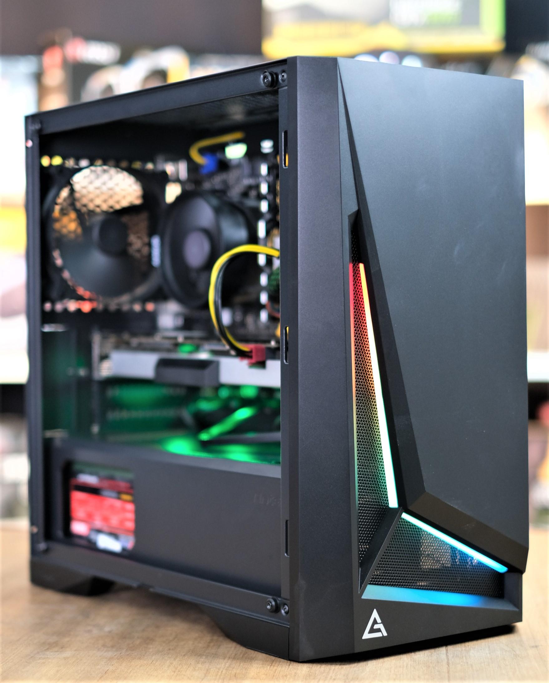 *ของใหม่* AMD RYZEN 5 2600 Turbo 3 9Ghz 6C 12T / 8GB DDR4 / GTX 1080 Ti  11GB / HDD 1TB หรือ 240 GB