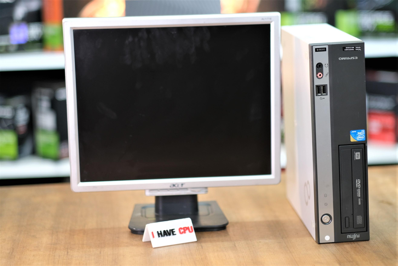 จอ 17 นิ่วพร้อมเล่น + DELL OPTIPLEX 990 ( i5-2500 4C 4T, 4GB, 500GB)