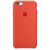 เคสซิลิโคน iPhone 6 Plus / 6s Plus - สีส้ม สไปซี่ ( Original )