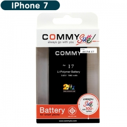 Battery IPhone 7 (COMMY) รับรอง มอก.ไม่แถมเครื่องมือ