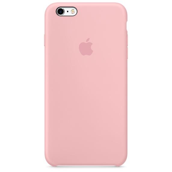 เคสซิลิโคน iPhone 6 Plus / 6s Plus - สีชมพู ( Original )