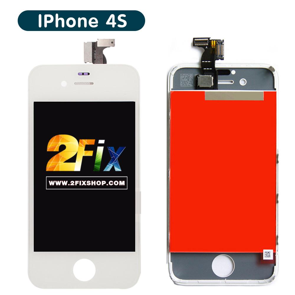 หน้าจอ iPhone 4S พร้อมทัสกรีน (White)