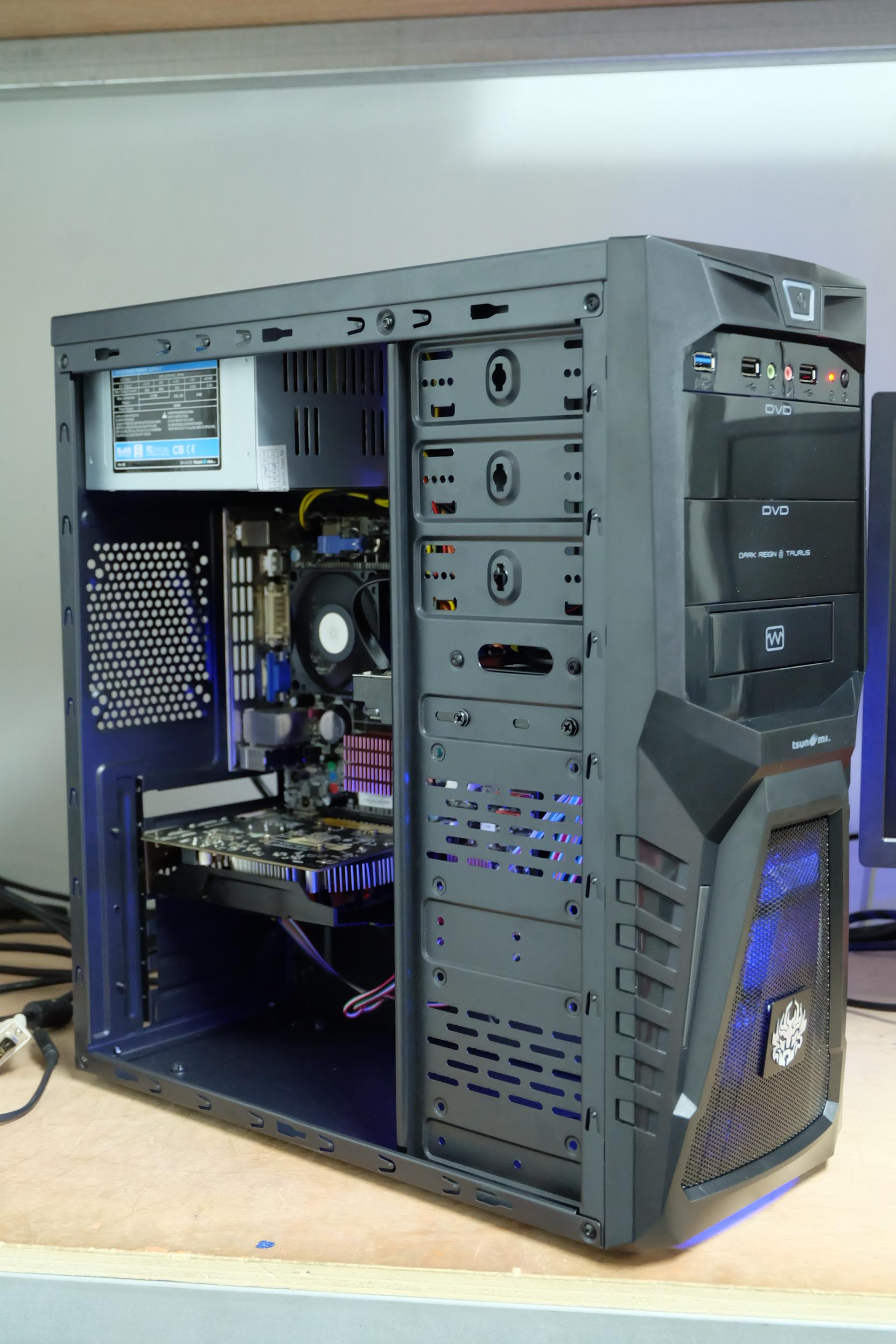 Athlon II X3 450 3.2Ghz / 4GB / GTX 650 1GB / 80 GB