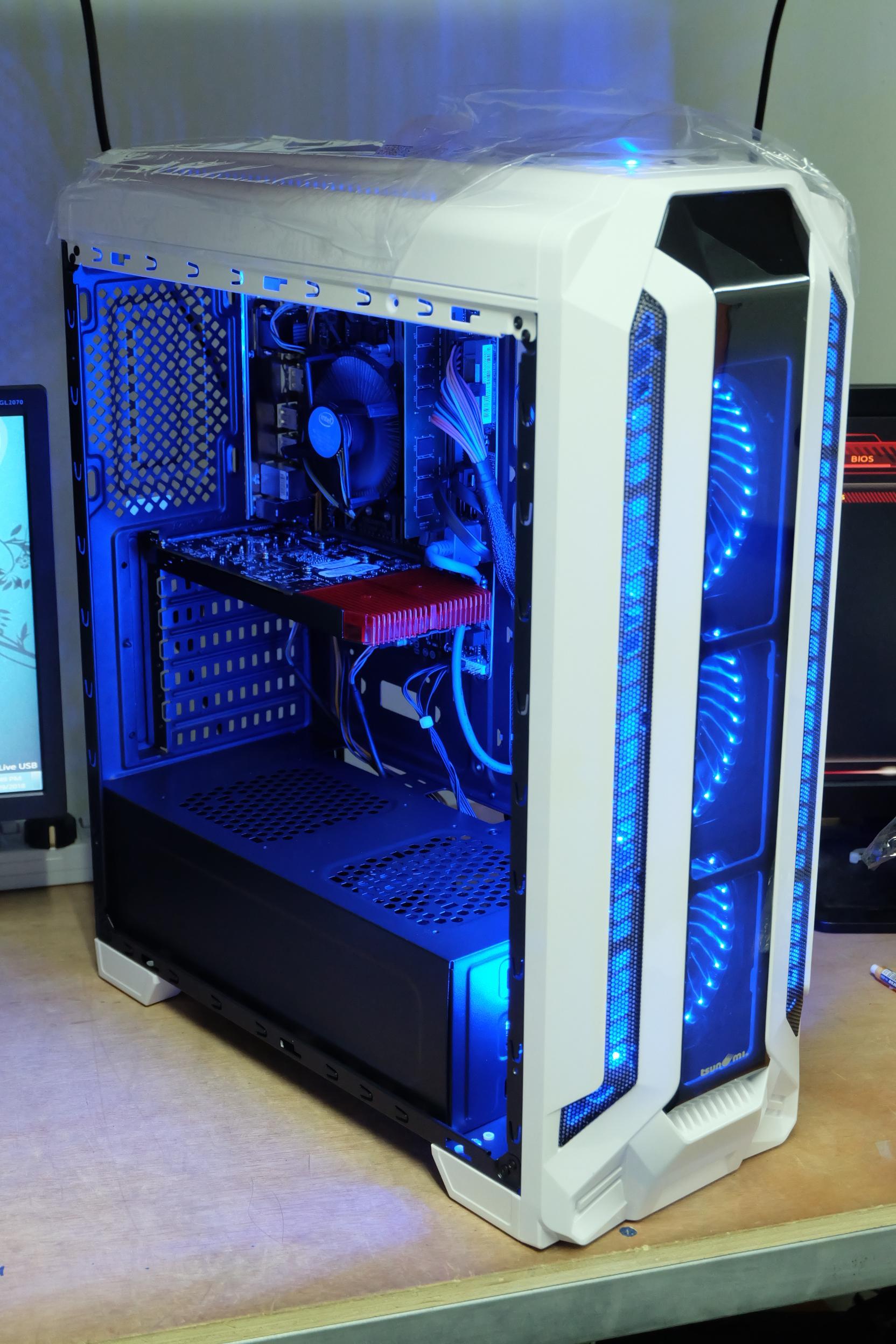 AMD FX 8300 Turbo 4.1Ghz 8 Core / 8GB / GTX 1050 Ti 4GB/ 120GB/1TB / 600W FULL / CASE HERO K2