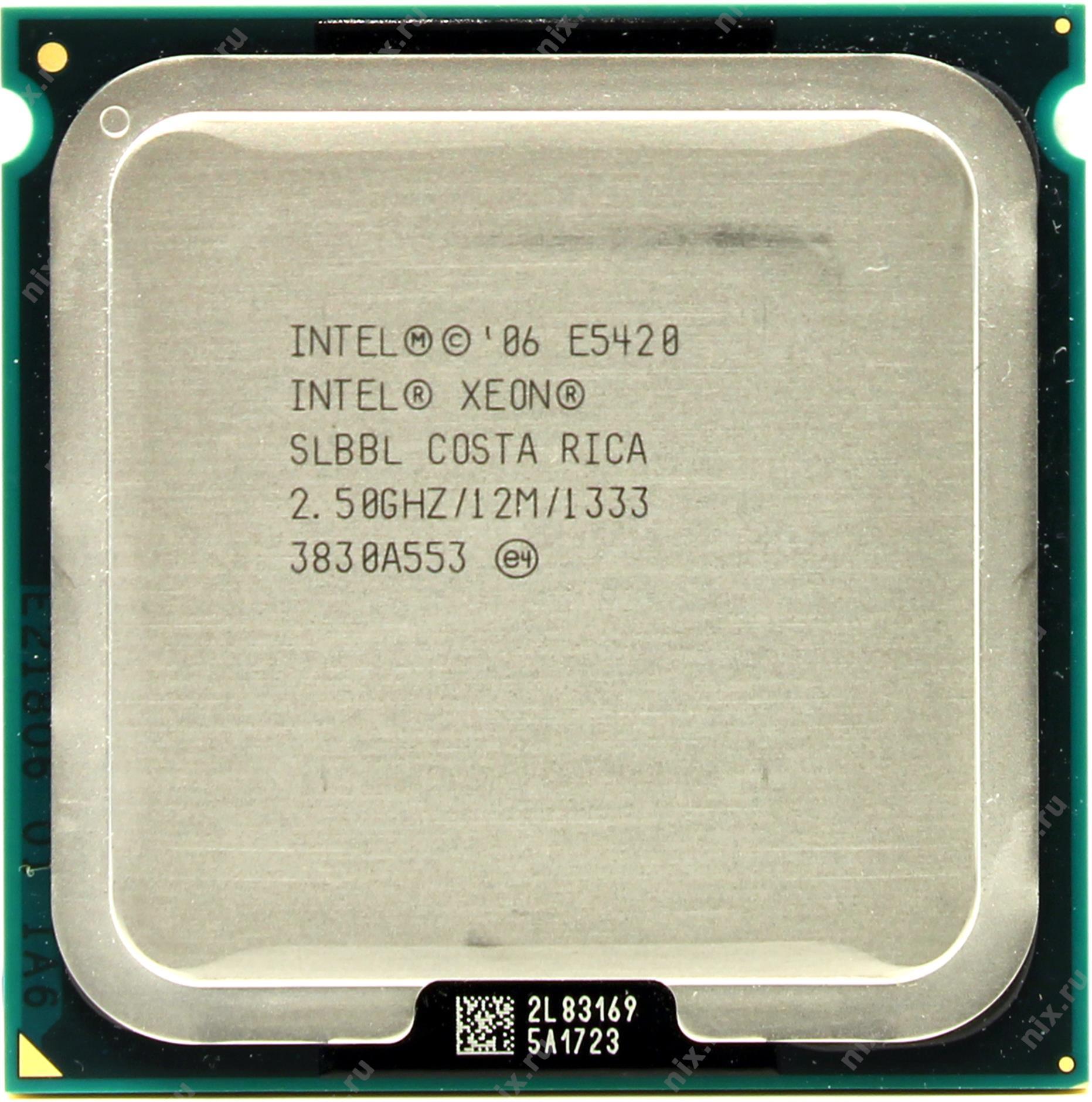 Xeon® Processor E5420