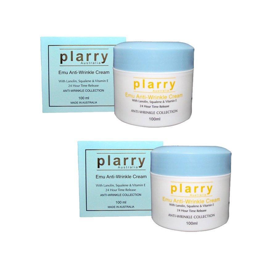 ครีมพลารี่อีมู Plarry Emu Anti-Wrinkle Cream 100 ml. 2 กระปุก