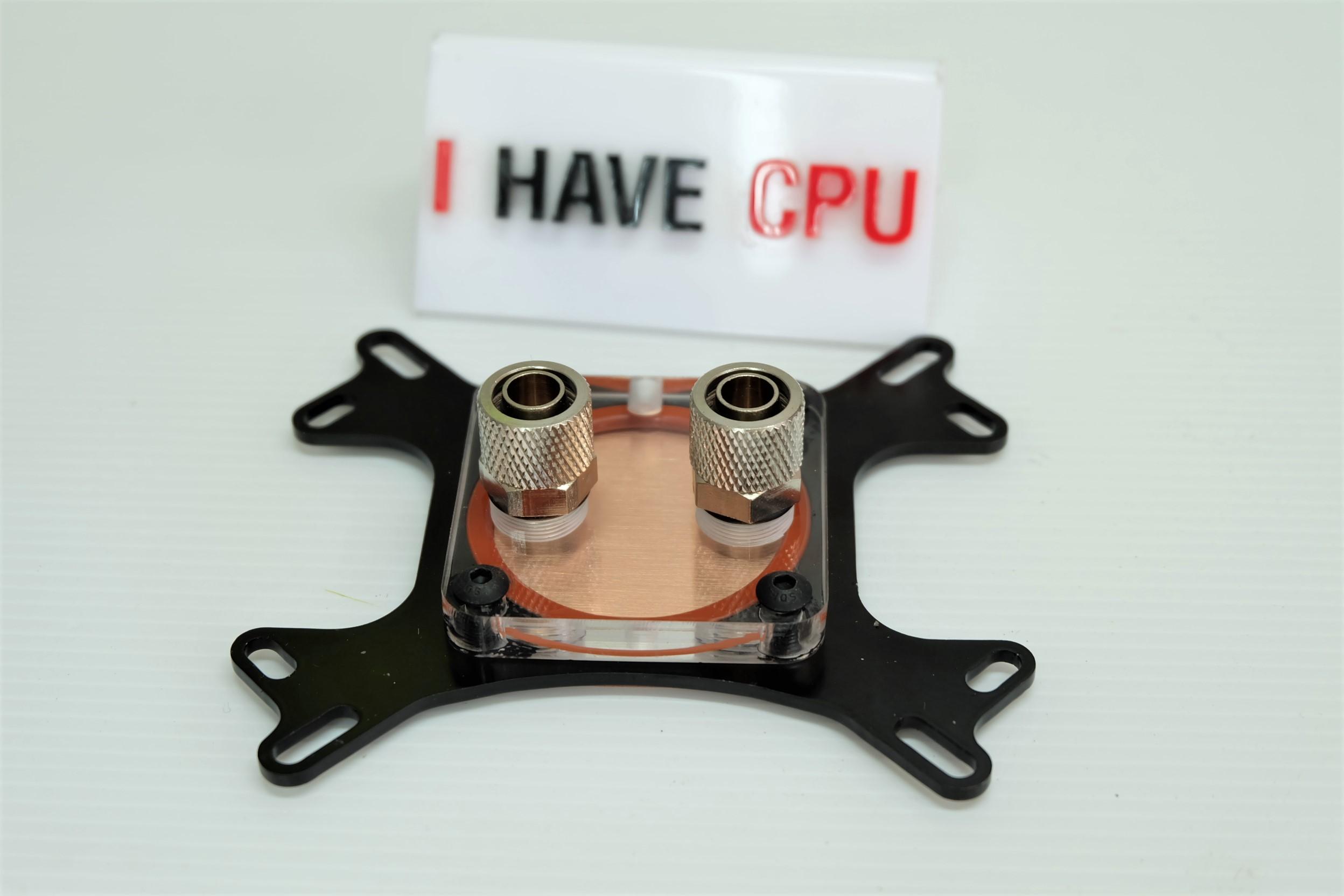 CPU Water Block ทองแดงทั้งตัว ใส้ได้ทั้ง AMD INTEL
