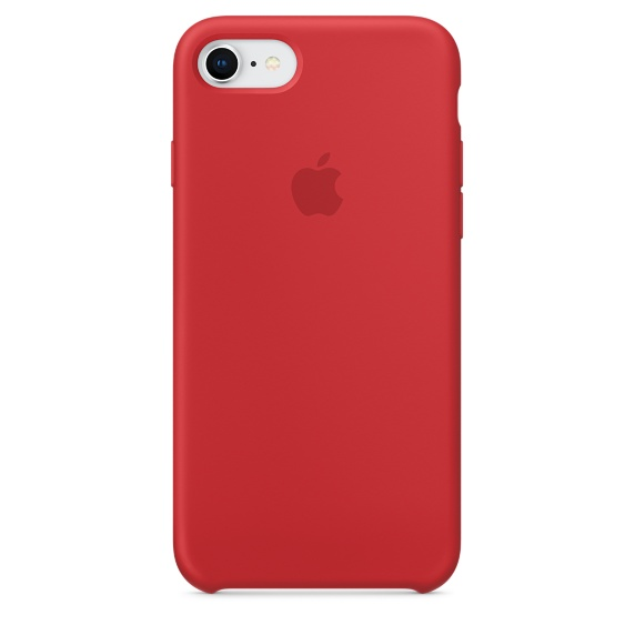 เคสซิลิโคน iPhone 6 / 6s สีแดงกุหลาบ ( Original )