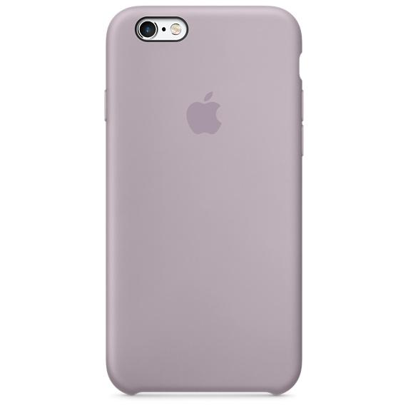 เคสซิลิโคน iPhone 6 Plus / 6s Plus - สีลาเวนเดอร์ ( Original )