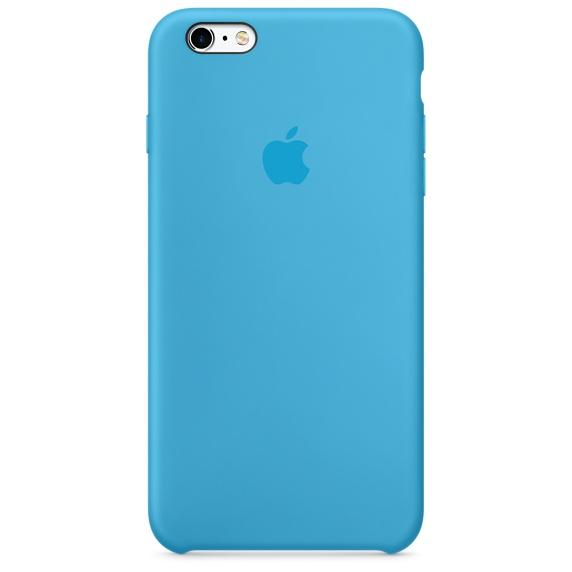 เคสซิลิโคน iPhone 6 Plus / 6s Plus - สีฟ้า ( Original )