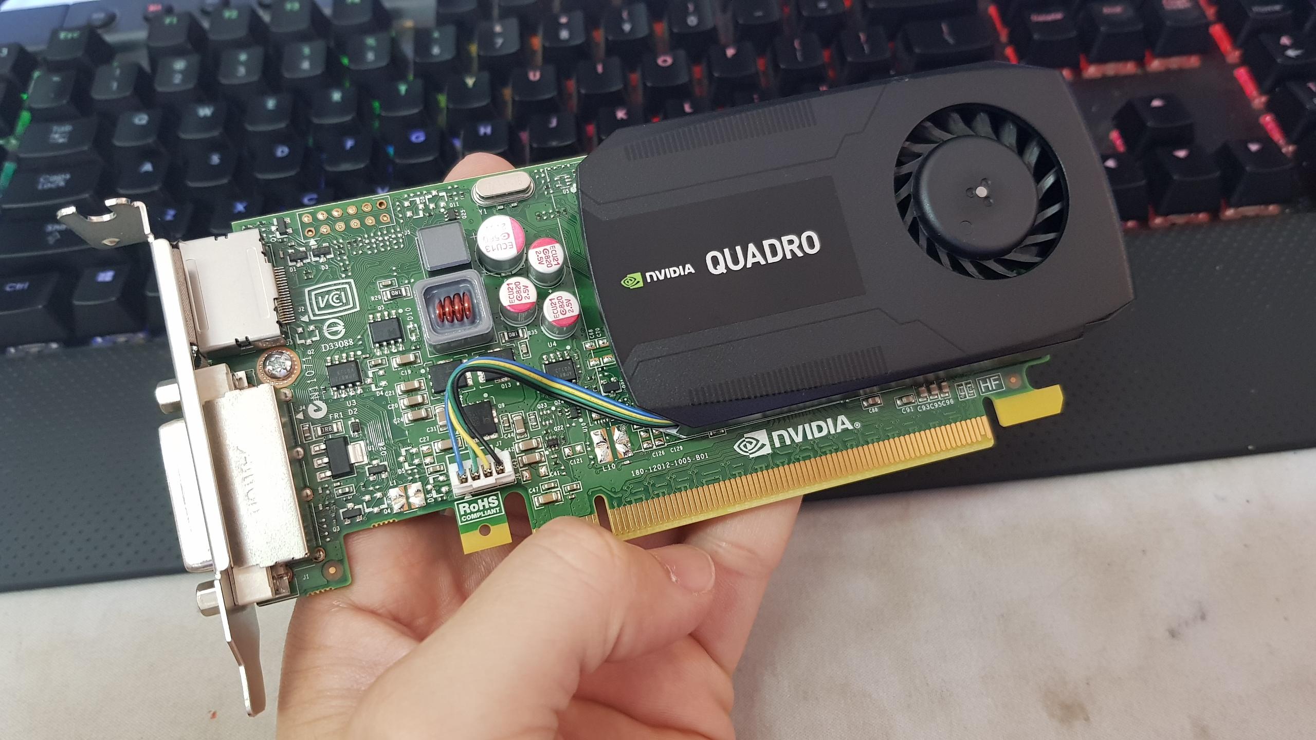 NVIDIA QUADRO K600 1GB LOW PROFILE