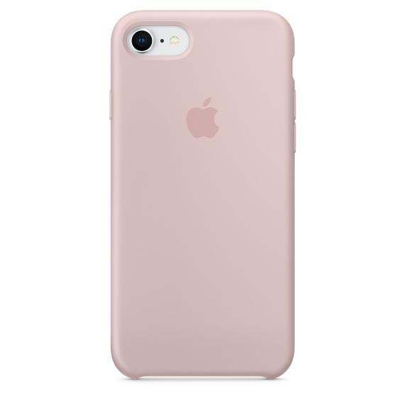 เคสซิลิโคน iPhone 7 / 8 สีชมพูพิงค์แซนด์ ( Original )