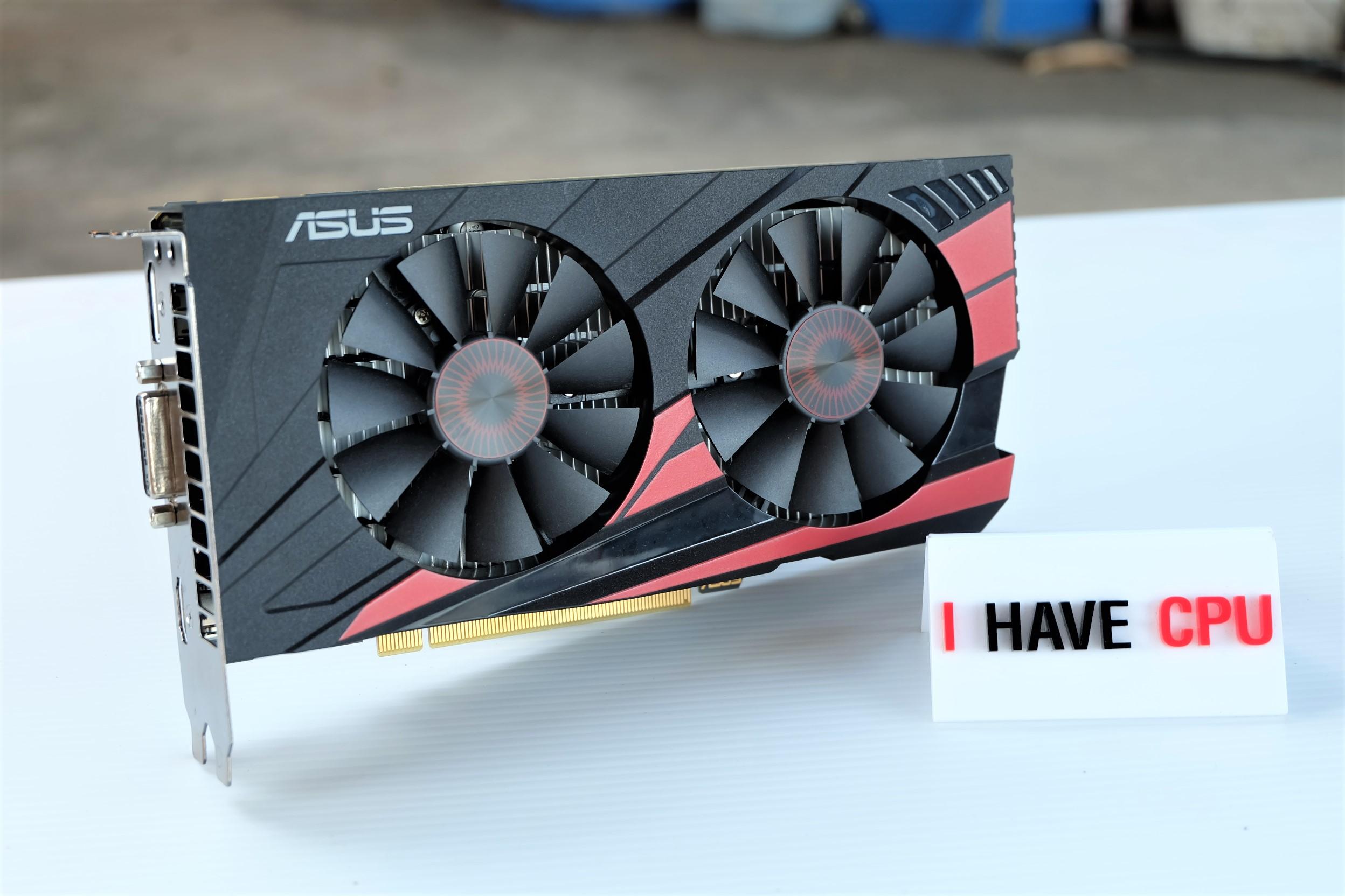 ASUS GEFORCE GTX 950 2GB OC ไม่ต่อไฟเลี้ยง