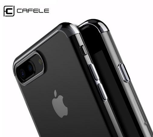 CAFELE IPhone 7 Plus TUP ใสบาง นุ่ม ขอบ lectroplate อย่างดี สวย หรูหรากว่าใคร
