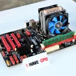 AMD Athlon X4 760K 3.8Ghz (4.1Ghz) 4C 4T / Biostar A57A2 / 8GB DDR3 1600Mhz / Deepcool X2