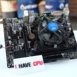 Intel® Pentium® Processor G3240 3.1Ghz + ASrock H81M-DGS