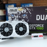 ASUS Dual GeForce GTX 1060 OC edition 6GB GDDR5