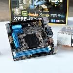 Xeon E5-2660 V4 ES 2.1Ghz 14Core 28Trheard + ASROCK ITX X99E-/AC