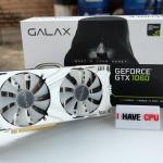 GALAX GTX 1060 6GB EXOC WHITE