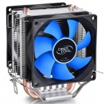 Deepcool 2Fans 2 Heatpipes Cpu Cooler Ice Edge Mini Fs Dual Blades