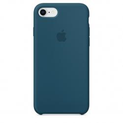 เคสซิลิโคน iPhone 7 / 8 สีคอสมอสบลู ( Original )