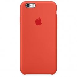 เคสซิลิโคน iPhone 6 / 6s - สีส้ม ( Original )