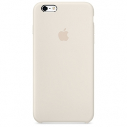 เคสซิลิโคน iPhone 6 / 6s - สีขาวแอนทีค ( Original )