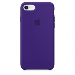 เคสซิลิโคน iPhone 7 / 8 สีม่วงไวโอเล็ตเข้ม ( Original )