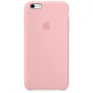 เคสซิลิโคน iPhone 6 / 6s - สีชมพู ( Original )