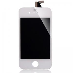 จอ ทัชสกรีน Iphone 4S สีขาว ประกัน 3 เดือน 1000 บาท