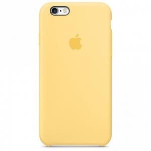 เคสซิลิโคน iPhone 6 / 6s - สีเหลือง ( Original )