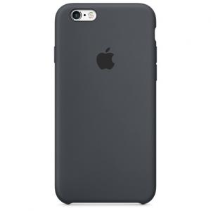 เคสซิลิโคน iPhone 6 / 6s - สีเทาชาร์โคล ( Original )