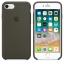 เคสซิลิโคน iPhone 7 8 Plus สีเขียวมะกอกเข้ม ( Original ) thumbnail 3