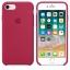 เคสซิลิโคน iPhone 7 / 8 สีแดงกุหลาบ ( Original ) thumbnail 3