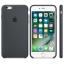 เคสซิลิโคน iPhone 6 Plus / 6s Plus - สีเทาชาร์โคล ( Original ) thumbnail 2