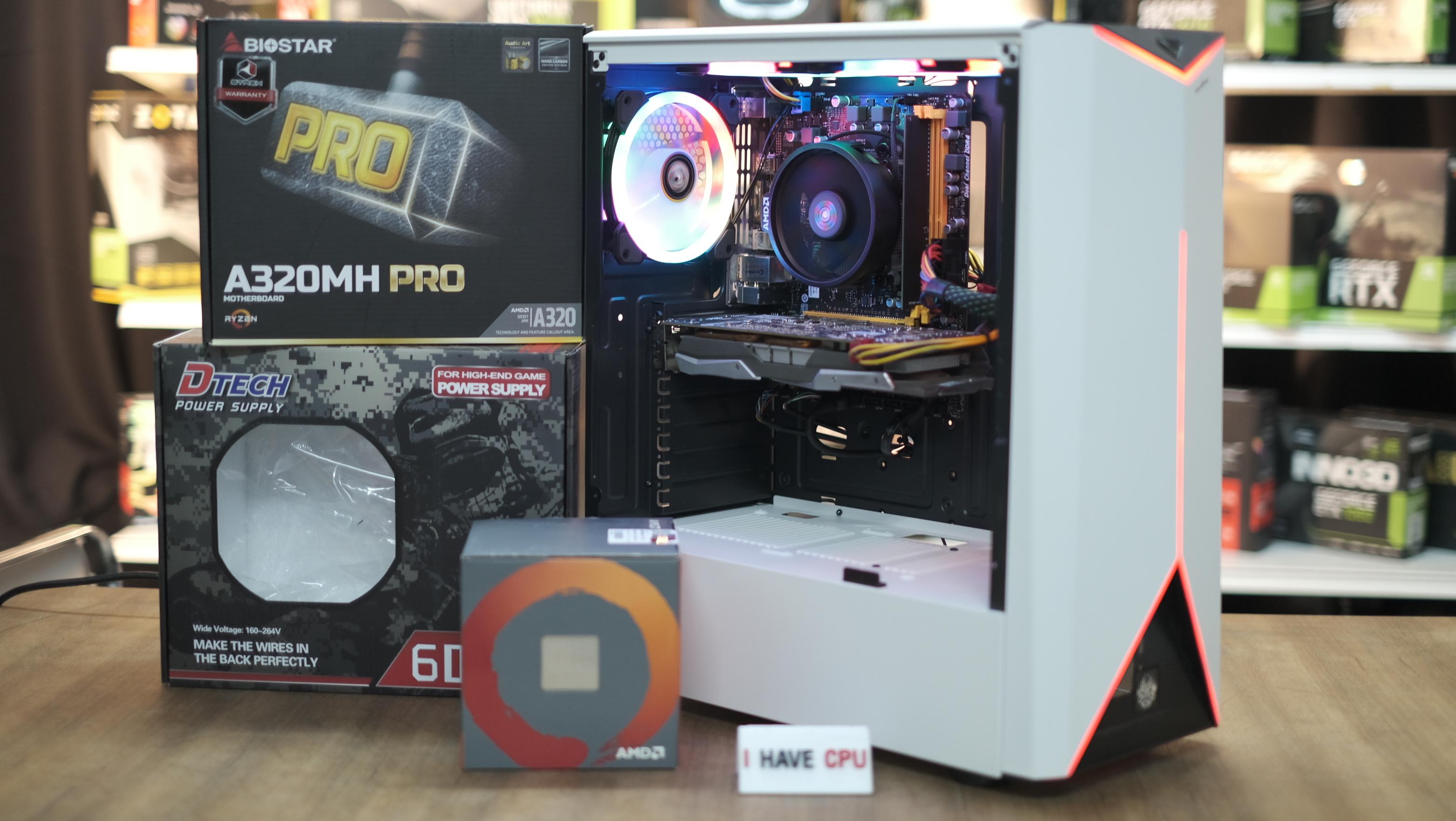 โปรโมชั่่นหนักๆ พร้อมใช้ INTELXeon E3-1245 V2 3 8Ghz 4C 8T /8GB DDR3  1600Mhz /AMD RX 570 4GB / 120GB SSD